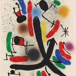 Miró Lithographe I, Plate…
