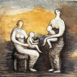 Mother and Child XVI