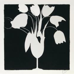 White Tulips and Vase