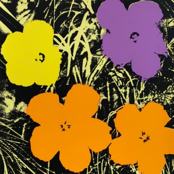 Flowers, 11.67 (Published by Sunday B Morning - After Warhol)