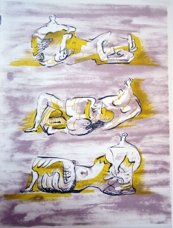 Henry Moore - Three Reclining Figures - R 40,000.00 (incl)