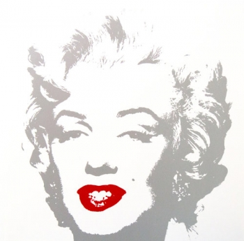 Golden Marilyn, 11.35 (Published by Sunday B Morning - After Warhol)