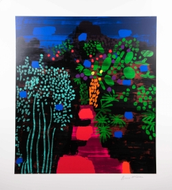 Bruce McLean - Red Garden Path - R 28,000.00 (incl)