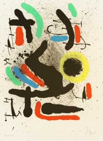 JOAN MIRO - Librerté des Librertés, no.748 | WAS: R 89,000.00 | NOW: R 75,000.00 incl.